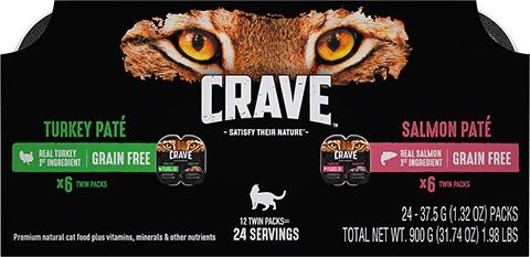 Crave Pate Grain-Free Cat Food
