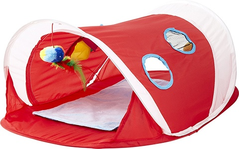 Hartz Just For Cats Peek & Play Pop-Up Tent