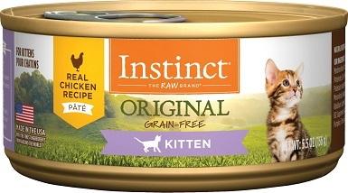 Instinct Kitten Grain-Free Pate Wet