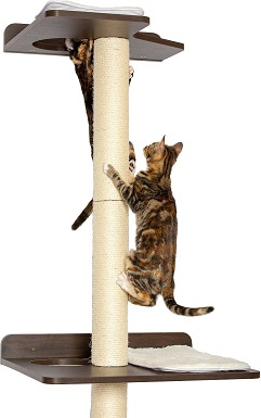 10PetFusion 76.8-in Wall Mounted Cat Tree