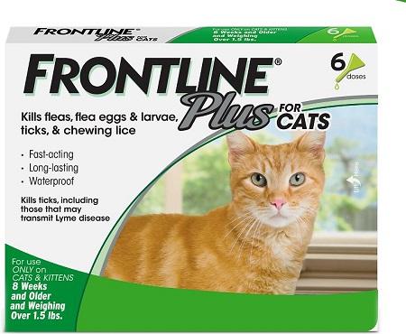1Frontline Plus Flea & Tick