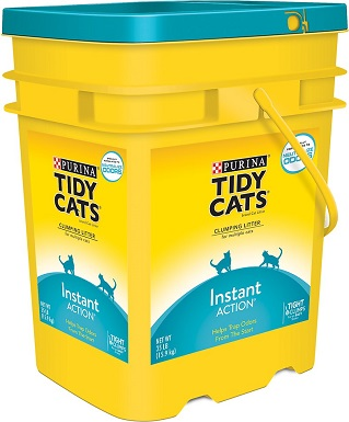 1Tidy Cats Instant Action Scented Clumping Clay Cat Litter