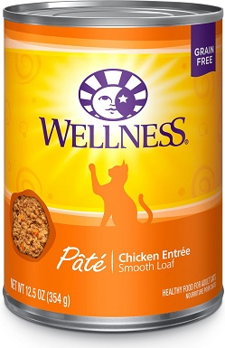 1Wellness Complete Health Pate Chicken Entree Grain-Free Canned Cat Food