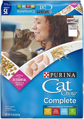 2Cat Chow Complete Dry Cat Food