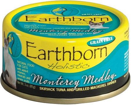 2Earthborn Holistic Monterey Medley Grain-Free Natural Canned Cat & Kitten Food