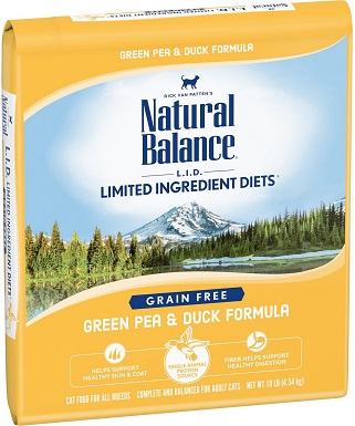 2Natural Balance L.I.D. Limited Ingredient Diets Green Pea & Duck Formula