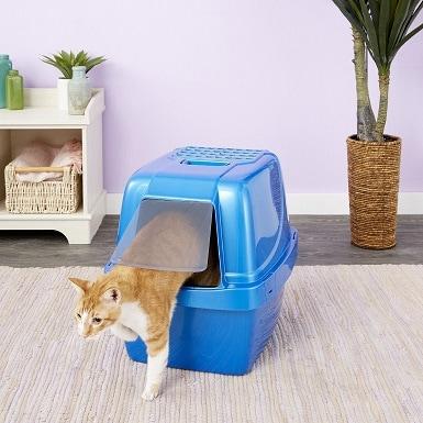 2Van Ness Enclosed Sifting Cat Litter Pan