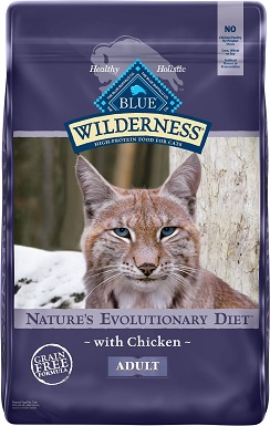 3Blue Buffalo Wilderness Chicken Recipe Grain-Free Dry Cat Food