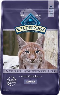 3Blue Buffalo Wilderness Chicken Recipe Grain-Free Dry Cat Food