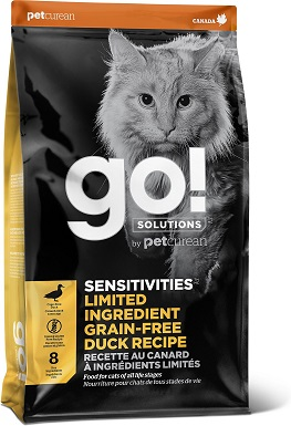 3Go! SENSITIVITIES Limited Ingredient Duck Grain-Free Dry Cat Food