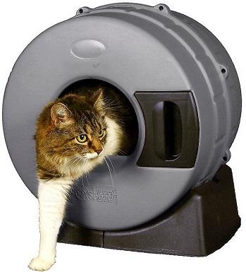 3Litter Spinner Cat Litter Box