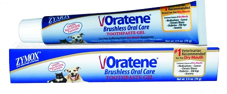 3Oratene Brushless Enzymatic Oral Care Therapy Dental Gel for Dogs & Cats