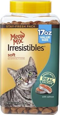 4Meow Mix Irresistibles Soft Salmon Cat Treats