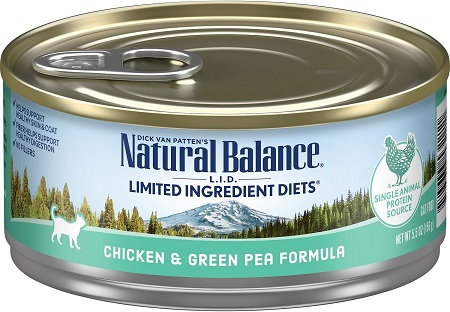 4Natural Balance L.I.D. Limited Ingredient Diets Chicken & Green Pea Formula