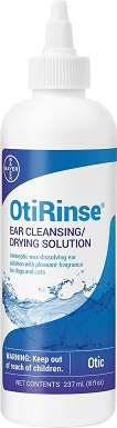 4OtiRinse Ear CleansingDrying Solution for Dogs & Cats, 8-oz bottle