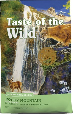 4Taste of the Wild Rocky Mountain Grain-Free Dry Cat Food