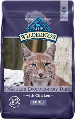 5Blue Buffalo Wilderness Grain-Free Dry Cat Food