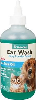 5NaturVet Aloe & Baby Powder Scent Dog & Cat Ear Wash