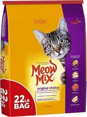 6Meow Mix Original Choice Dry Cat Food