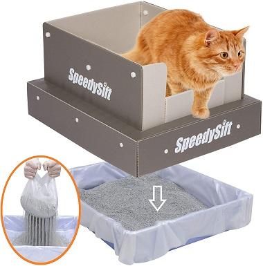 6SpeedySift Cat Litter Box