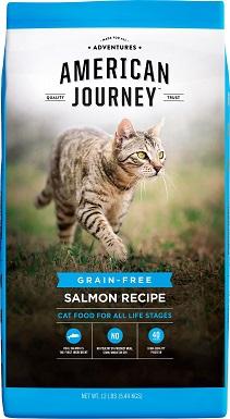 7American Journey Salmon Recipe Grain-Free Dry Cat Food