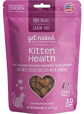 7Get Naked 1 Pouch Kitten Health Soft Treats