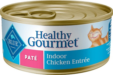 8Blue Buffalo Healthy Gourmet Pate Chicken Entree Indoor Adult Canned Cat Food