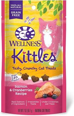 8Wellness Kittles Crunchy Natural Grain Free Cat Treats