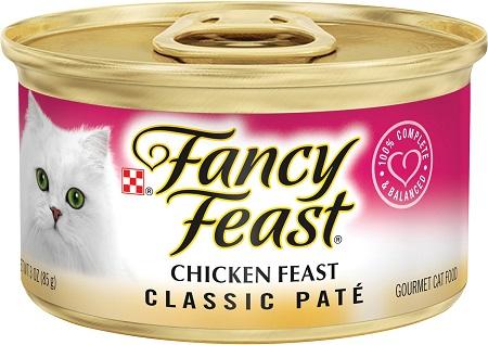 9Fancy Feast Classic Chicken Feast Canned Cat Food