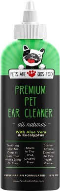 9Pets Are Kids Too Premium Pet Ear Cleaner Solution