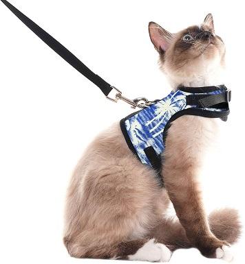 9SCENEREAL Escape Proof Cat Harness