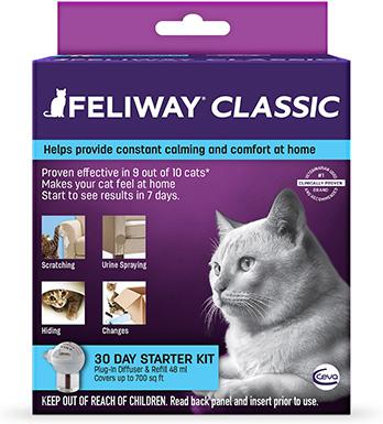 Feliway Plug-In Diffuser & Refill, 48-mL