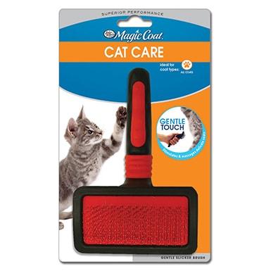 Four Paws Gentle Slicker Wire Cat Brush