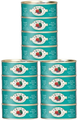 Fromm Fourstar Cat Food Canned Salmon Tuna Pate