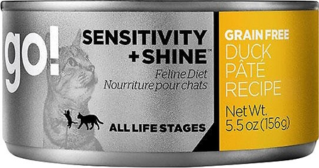 Go! Sensitivity + Shine Grain-Free Canned Cat Food