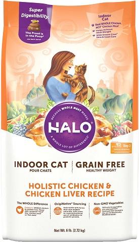 Halo Holistic Chicken & Chicken Liver Indoor