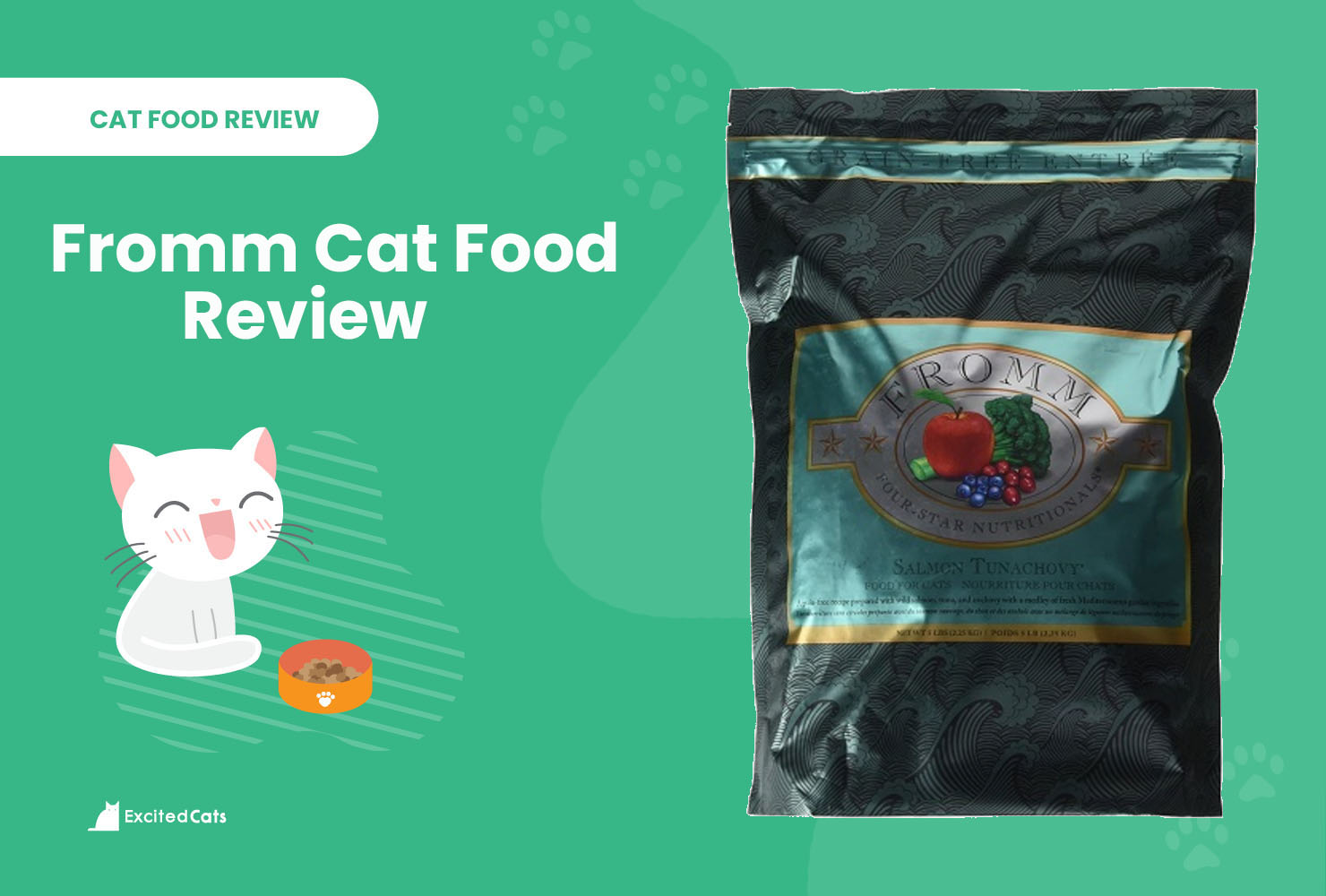 fromm cat food review