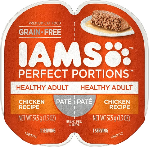 1IAMS Perfect Portions Healthy Grain Free Wet Cat Food