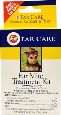 1Miracle Care R-7M Ear Mite Treatment