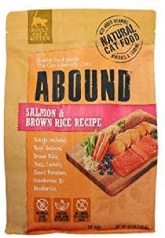 2Abound Salmon & Brown Rice Adult Cat Food