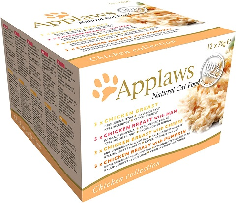 2Applaws Wet Cat Food, Multipack Chicken Selection