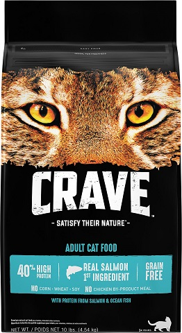 2Crave with Protein from Salmon & Ocean Fish Adult Grain-Free Dry Cat Food