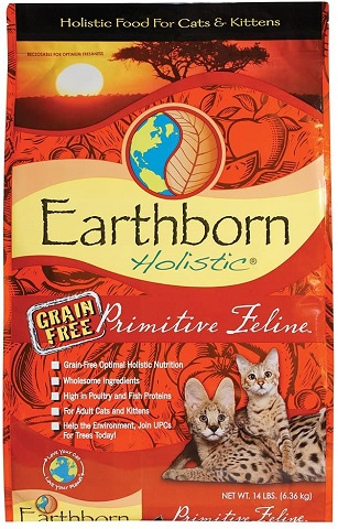 2Earthborn Holistic Primitive Feline Natural Grain-Free Dry Cat Food
