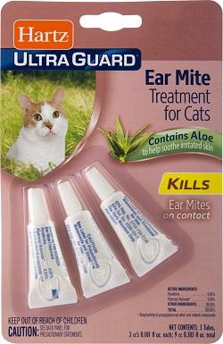 2Hartz UltraGuard Ear Mite Cat Treatment