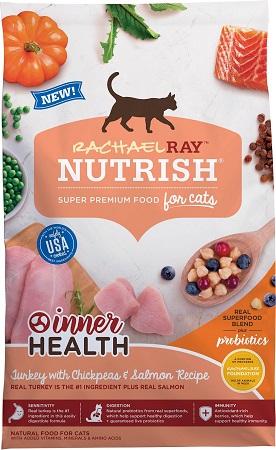 2Rachael Ray Nutrish Inner Health Turkey with Chickpeas & Salmon Recipe