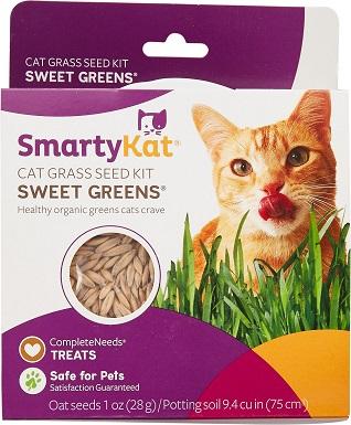 2SmartyKat Sweet Greens Cat Grass Seed Kit