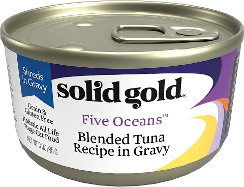 2Solid Gold - Five Oceans Holistic Grain-Free Wet Cat Food for All Life Stages
