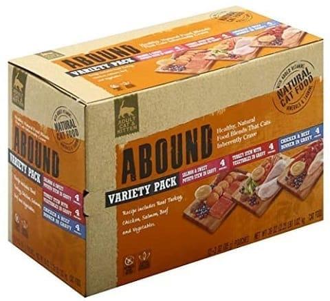 3Abound 3 Flavor Variety Pack Cat Food