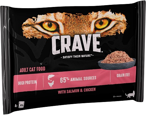 3Crave Wet Cat Food with Salmon & Chicken in Loaf