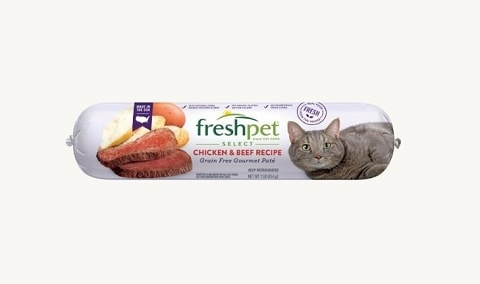 3FRESHPET SELECT CHICKEN & BEEF GRAIN FREE GOURMET PATÉ FOR CATS